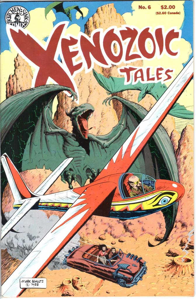 Xenozoic Tales (1987) #6