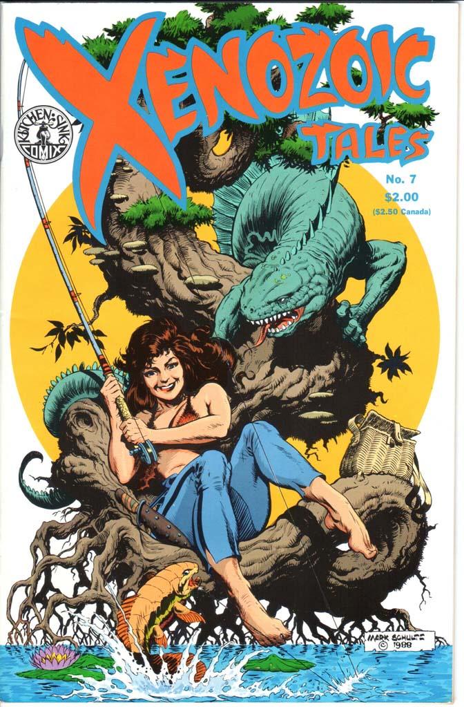 Xenozoic Tales (1987) #7