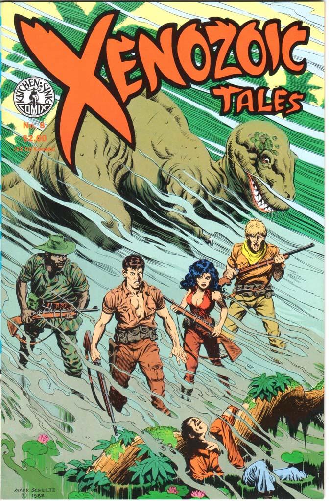 Xenozoic Tales (1987) #8