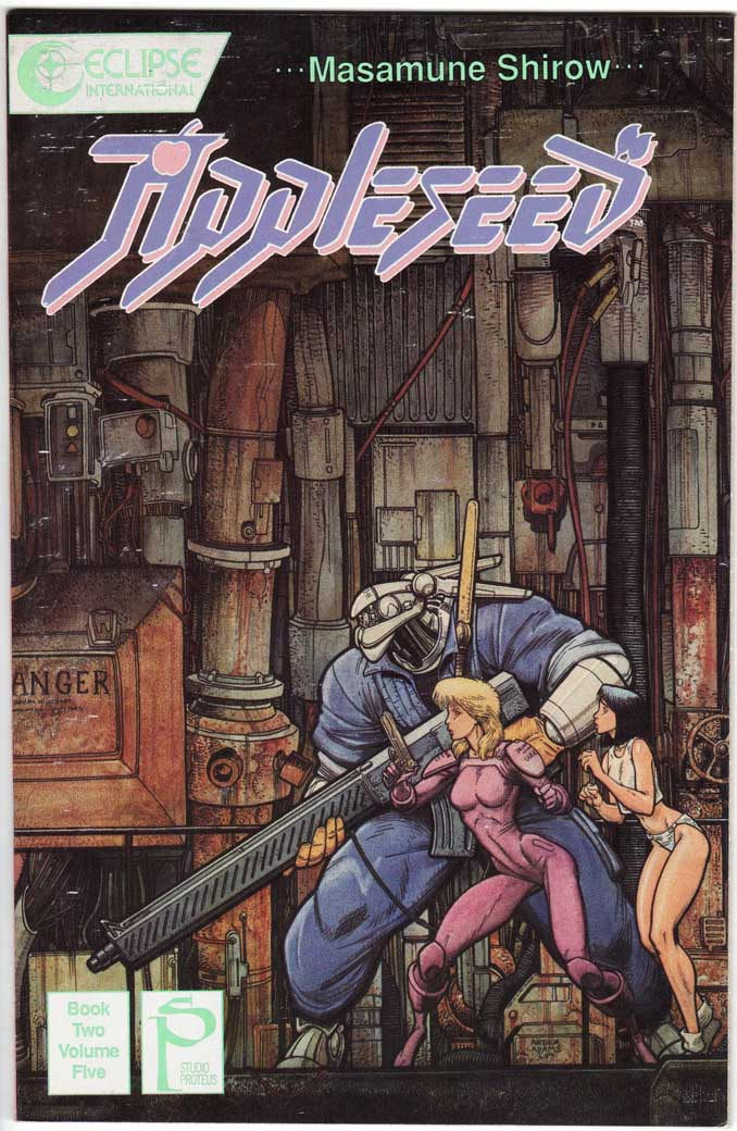 Appleseed Book 2 (1989) #5