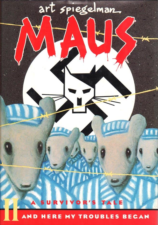Maus: A Survivor's Tale HC (1992) Book 2