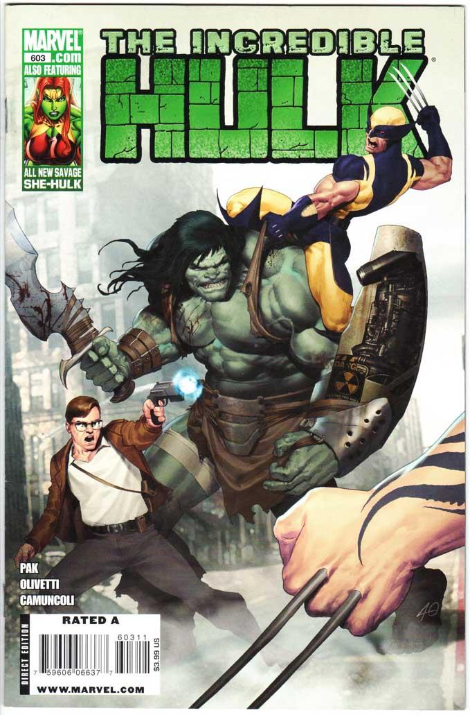 Incredible Hulk (2009) #603