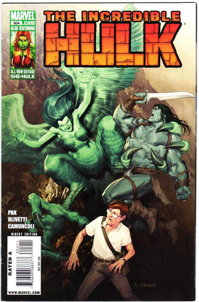 Incredible Hulk (2009) #604