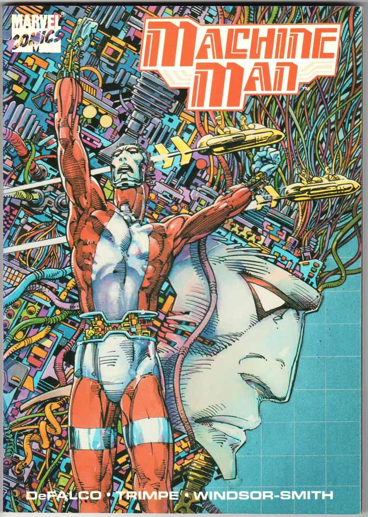 Machine Man TPB (1988)