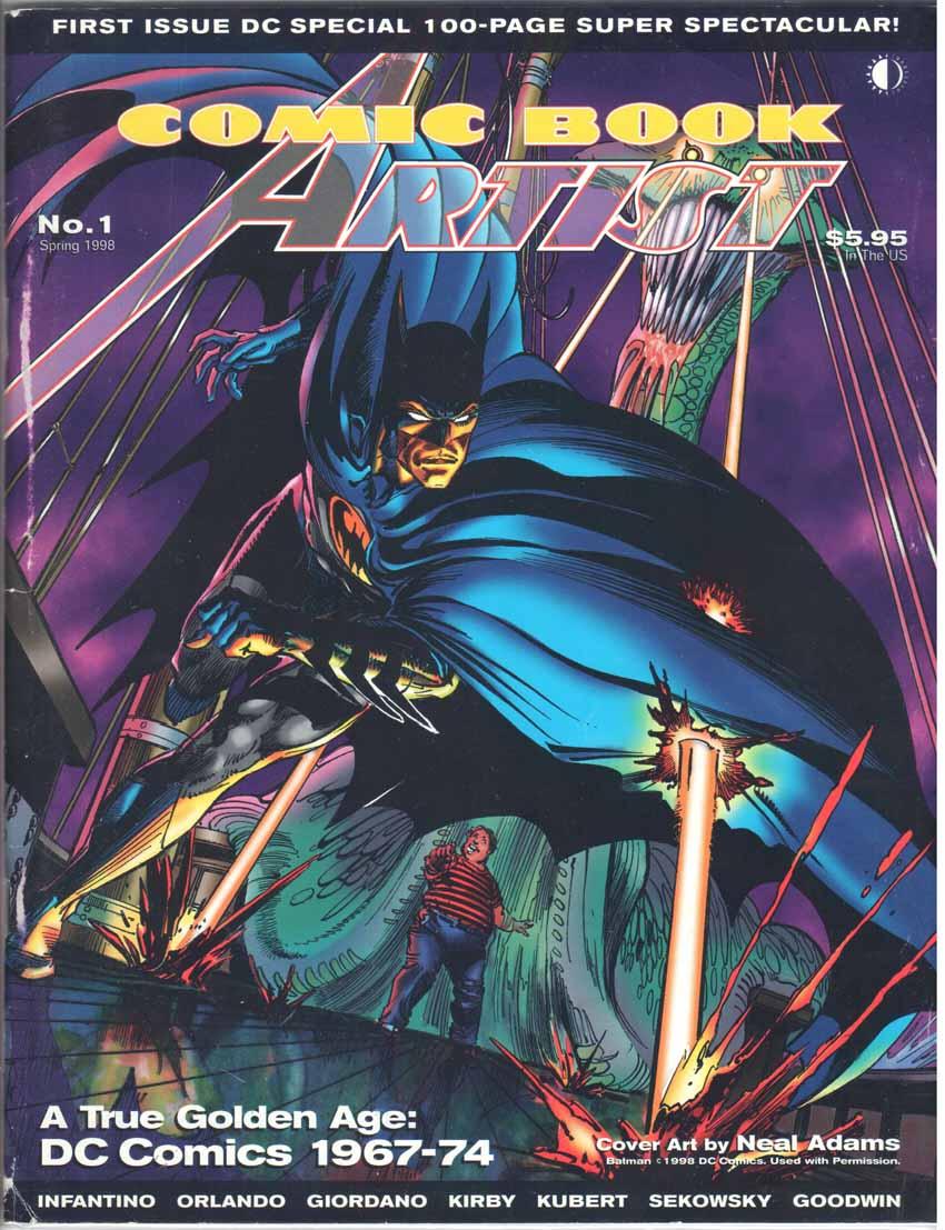 Comic Book Artist (1998) #1