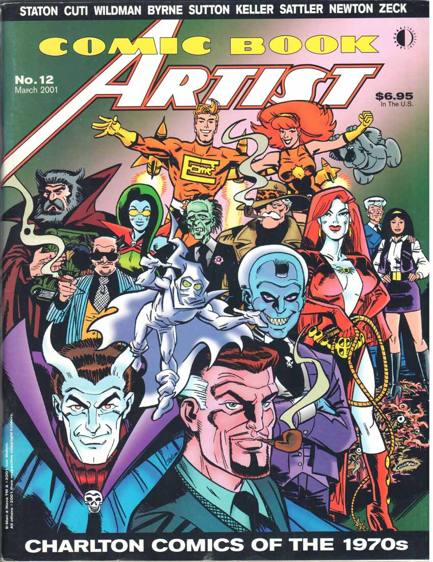 Comic Book Artist (1998) #12