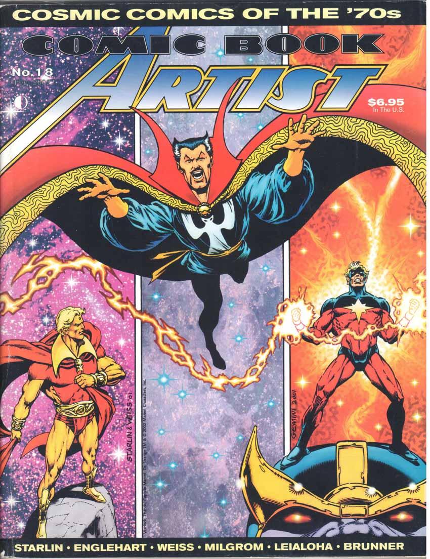 Comic Book Artist (1998) #18