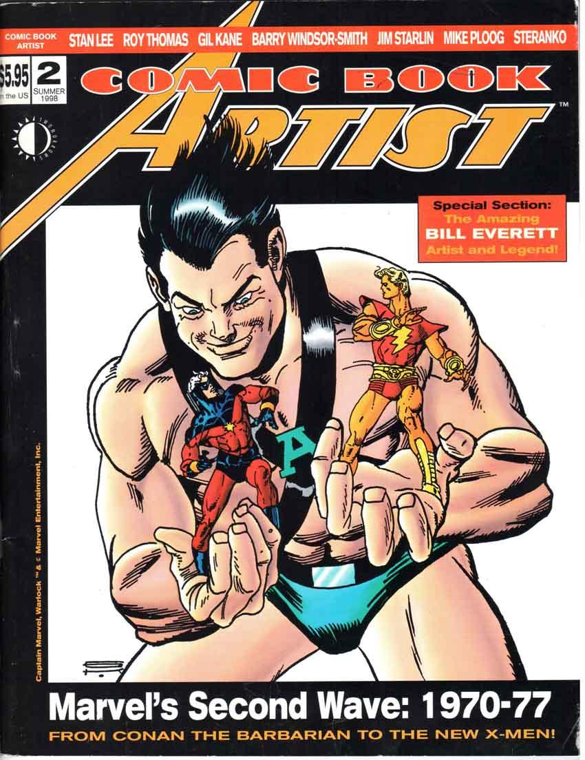 Comic Book Artist (1998) #2