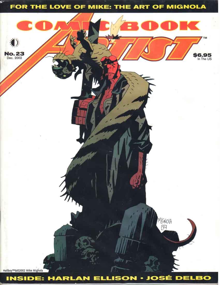 Comic Book Artist (1998) #23