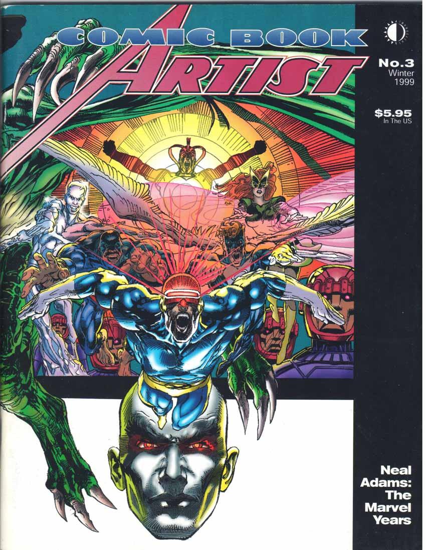 Comic Book Artist (1998) #3