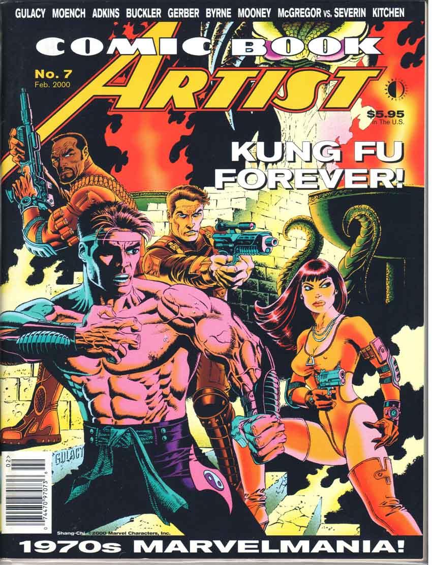 Comic Book Artist (1998) #7