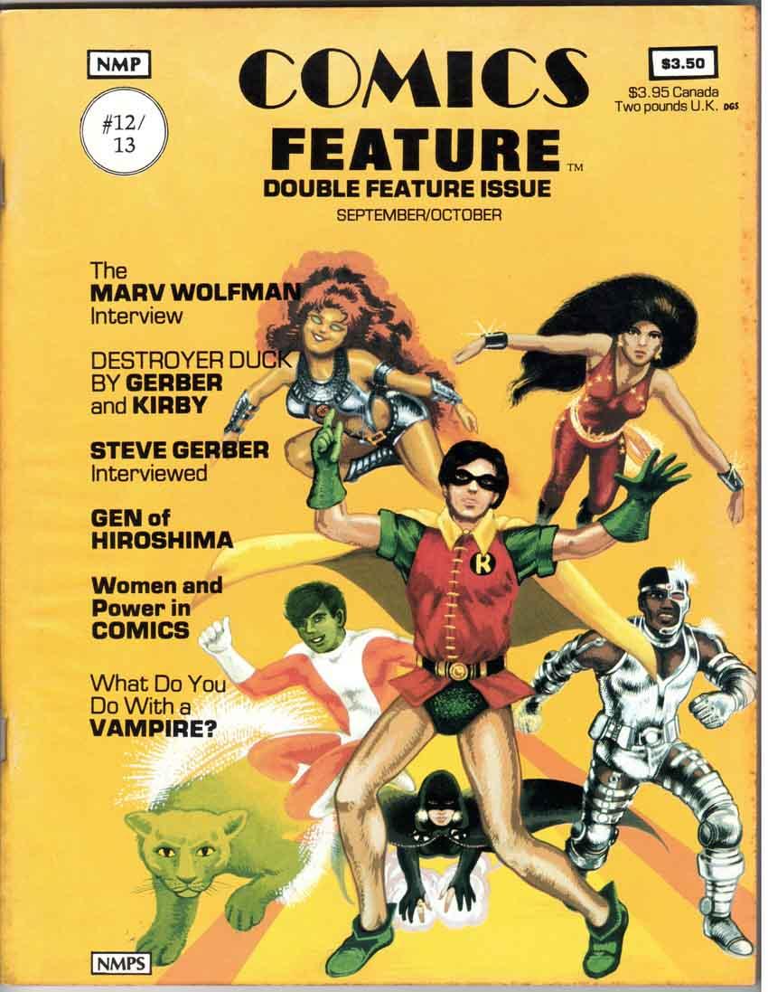 Comics Feature Magazine (1980) #12-13