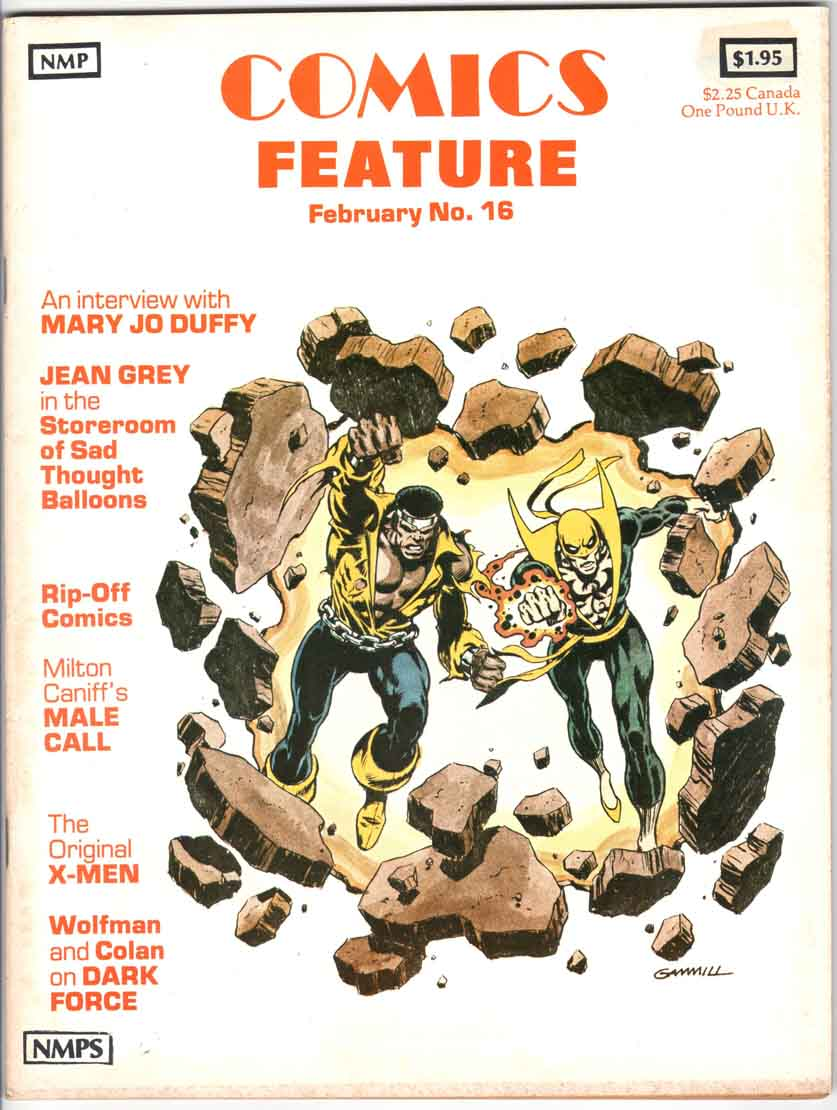 Comics Feature Magazine (1980) #16