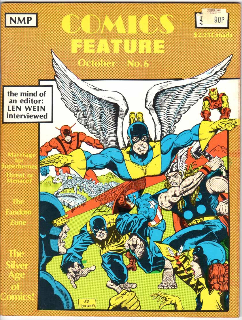 Comics Feature Magazine (1980) #6