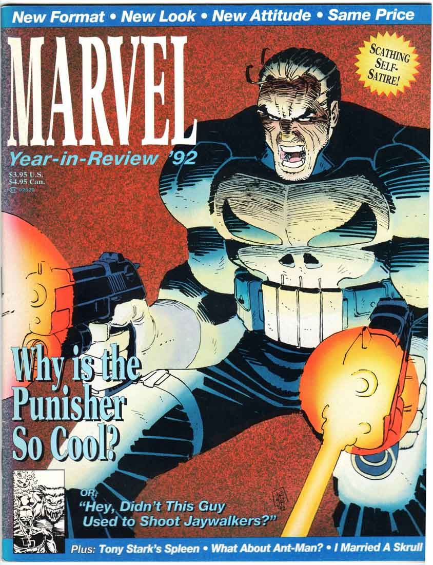 Marvel the Year in Review #4/1992