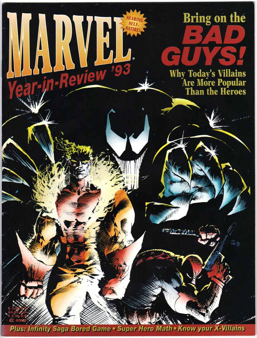 Marvel the Year in Review #5/1993
