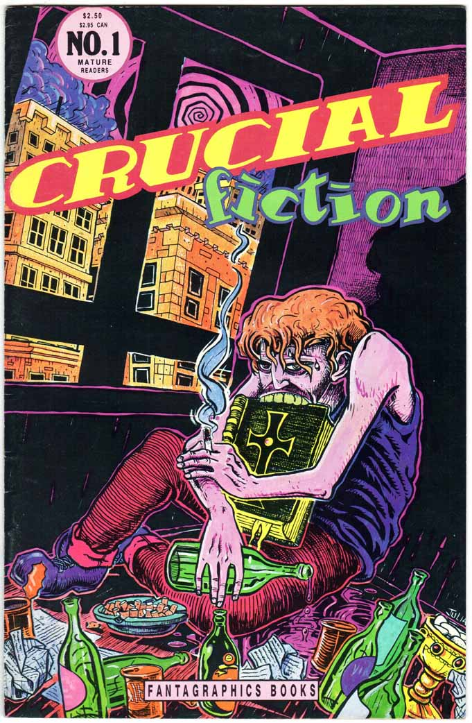 Crucial Fiction (1992) #1