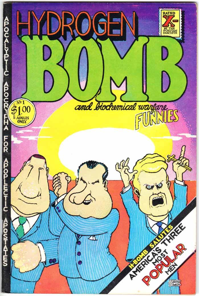 Hydrogen Bomb Funnies (1970) #1