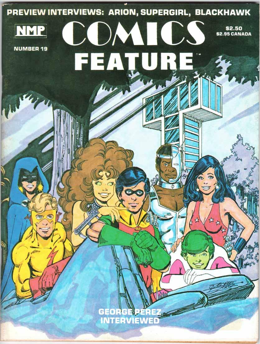 Comics Feature Magazine (1980) #19