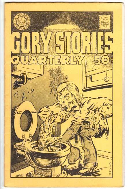 Gory Stories Quarterly (1972) #2