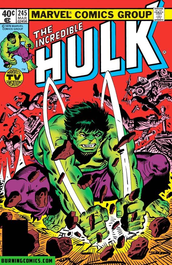 Incredible Hulk (1962) #245