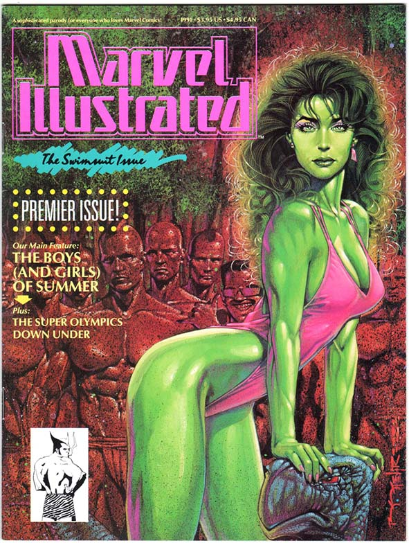 Marvel Illustrated: Swimsuit Issue (1991) #1