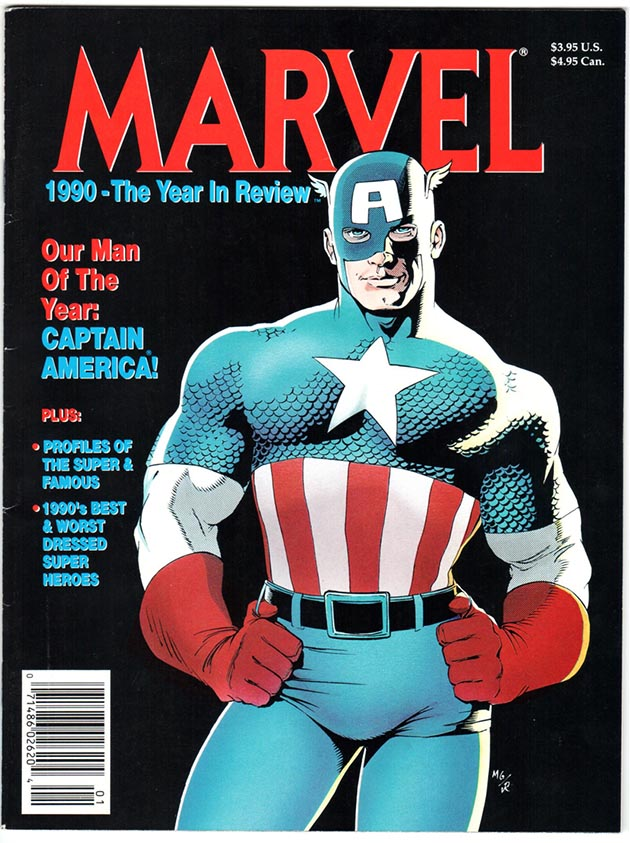 Marvel the Year in Review #2/1990