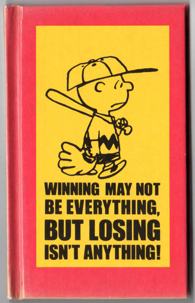 Peanuts – Winning May Not Be Everything (1970) HC