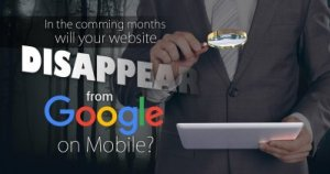 googles separate mobile index