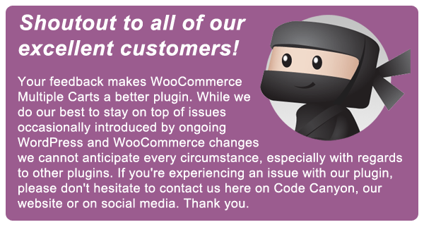 WooCommerce Multiple Carts Per User 1