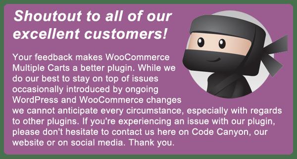 WooCommerce Multiple Carts Per User 1