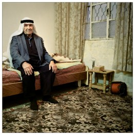 """Bader is a 100 years old. During his life he has lived under the rule of the Ottomans, the British mandate, The Jordanian Kingdom, The Israeli occupation and the Palestinian authority. """"It doesn't matter who's in power"""", he says, as long as I'm allowed to continue live on my land."""