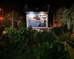 September 2010 – Aden – A propaganda manifesto (poster) of the president.