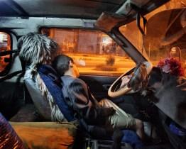 August 2010 – Ibb – A boy sleeping inside a car. Photo Lorenzo Meloni