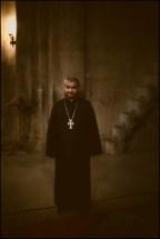 Orthodox priest from the monastery Gandzasar.