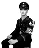Soldbuch personal identificaltion photograph: Tim, 1st SS Panzergrenadier LAH.