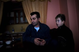 Reshat Zatriqi described his worry about the ongoing violence that happens near his home in one of the only Albanian neighborhoods in Serb-dominated northern Mitrovica.