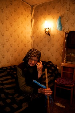 Danica Kovacevic (b 1936) lives alone in a small one-bedroom home in the isolated village of Cagolica, Kosovo. She lost her husband and daughter, to alcoholism and suicide, in the aftermath of the war.