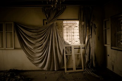 Abandoned house in Rafah. Tunnel area. 31-03-2011