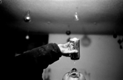 Getting every last drop, Allen, Pine Ridge Reservation. (2008)