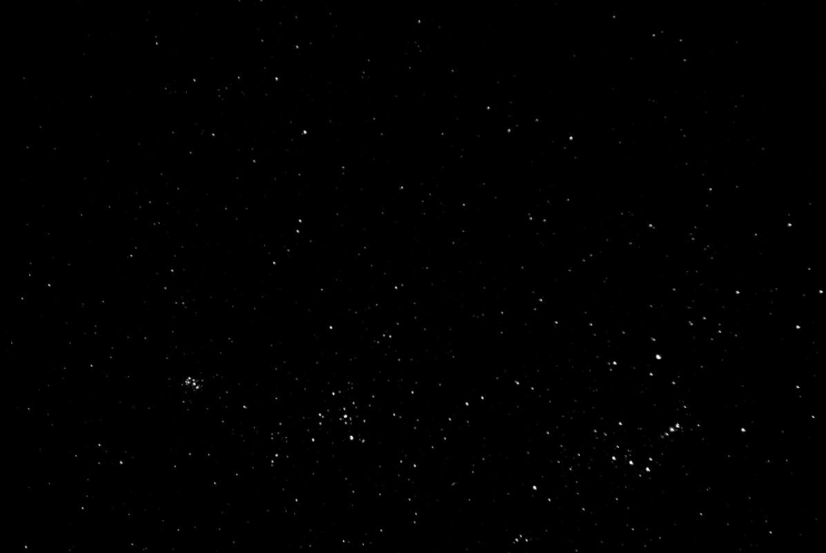 VENEZUELA, ICABARU REGION. FEBRUARY 2010. Night sky stars.