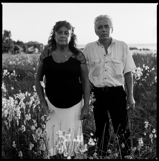 Alicia Cadenas and Ariel Soto, a Uruguaian couple that seeked exile in Argentina after the dictatorship was installed in their country in 1973. They were both kidnapped in Argentina in 1976 by a task force of Uruguaian and Argentine military in what is one of the most famous and terrible episodes of Operation Condorand. Kept in Automotors Orletti concentration camp, for 10 days they were interrogated and tortured. After that Ms Cadenas and Mr Soto with a group of Uruguaian political prisoners were smuggled by the military back to Uruguay where they both spent more then 2 years each in jail, before seeking exile in Sweden. After divorcing in 1985, they decided to get back together again 25 years later. Piriapolis, Uruguay, February 2012.