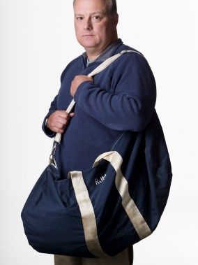 Rich Moller was running late on September 11, the weight of his gym bag caused him to miss his normal ferry. He only got to the 78th floor when the plane struck. Had he made it to his 100th floor office he would not have survived.