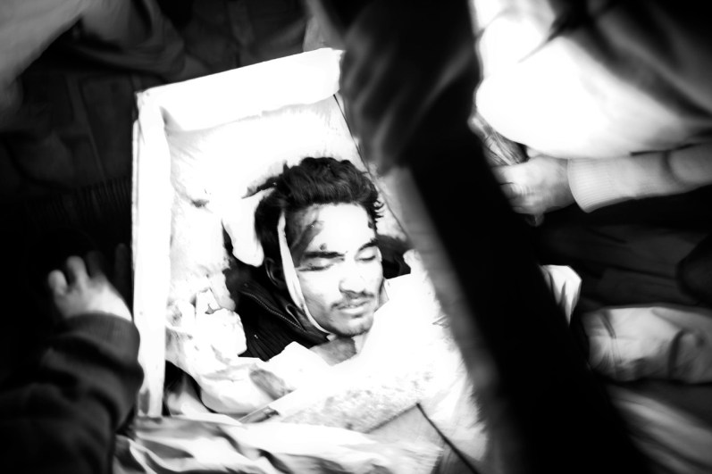 Pakistan Dec 2009, Peshawar: a 28 years old man lost his life in a suicide blast accurred in a market near the district court