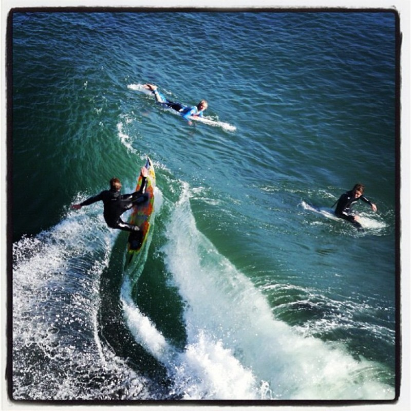 Steamer Lane in Santa Cruz. One...