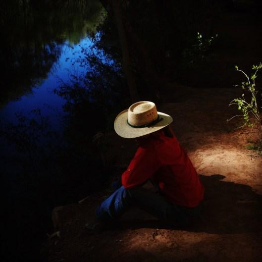 Fading Light. Sycamore Canyon, Arizona.