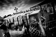 A funeral in Al Qosh.