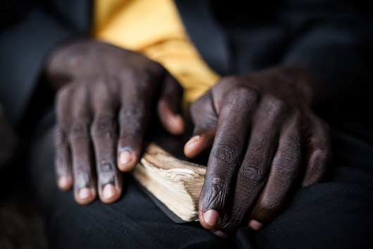 A man fasts for fourteen days, drinking only water, he holds the Bible and stays away from people. He goes back to the church only when prayer sessions are held. Many believers stay in such prayer camp praying and fasting up to forty days.