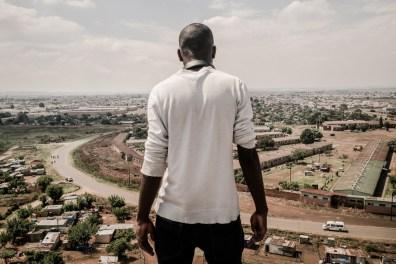 Township panoramic view, Katlehong - Johannesburg.