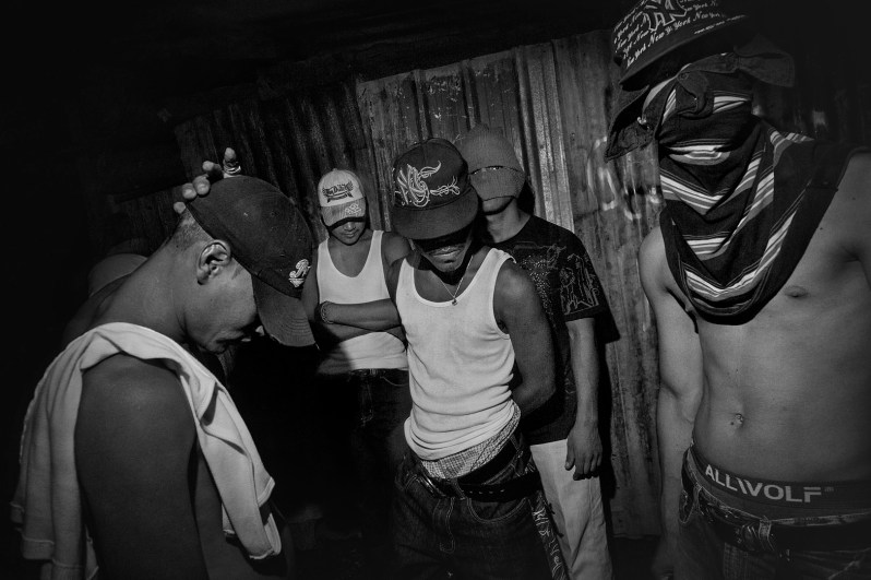 """Nicaragua, Managua city. Rampant is the phenomenon of """"pandillas"""", gangs made up of boys who often end up killed or detained in various prisons in the country."""